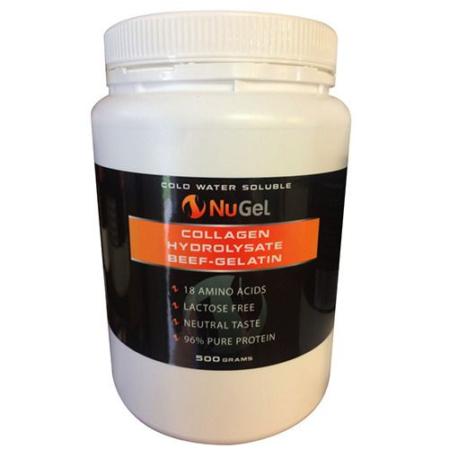 https://flic.kr/p/H4MdhL | Cold water soluble | Buy Collagen Hydrolysate Beef Gelatin.   Contact Us :   147 Lumley Street Upper Mount Gravatt Brisbane 4122   P: 1300 669 529 E: info@nustrength.com.au   For More Info Go Here :  nustrength.com.au/product/nugel-700g/
