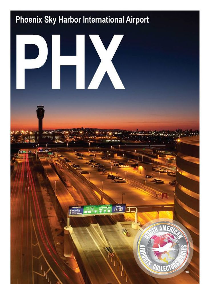 PHX airport trading cards are now available