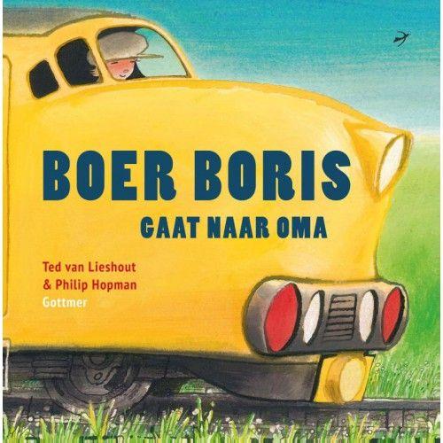 Boer Boris gaat naar Oma is het achtste prentenboek in de succesvolle reeks van Ted van Lieshout en Philip Hopman. In dit deel gaat Boris met zijn broertje en zusje naar Oma in Den Haag.