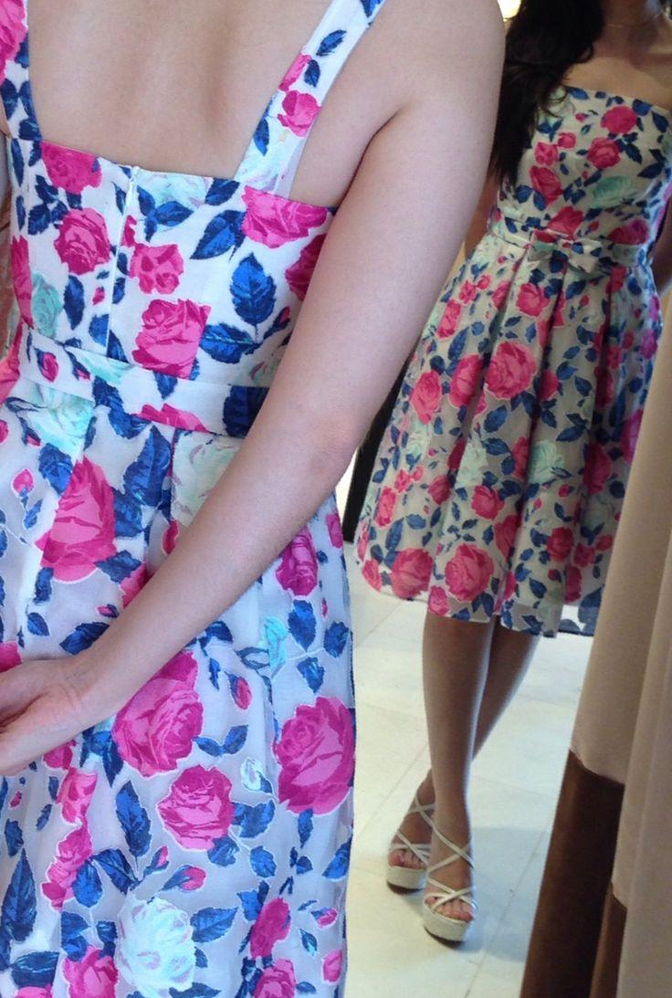 Amarisso New York cocktail floral dress.