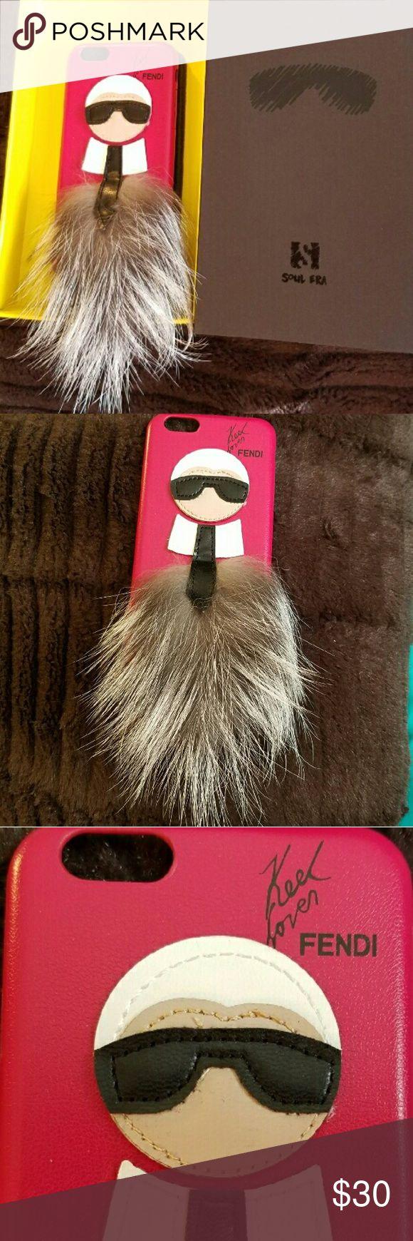 Karl Loves Fendi Phone Case