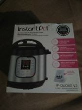 Instant Pot IP-DUO60 V2 Programmable Electric Pressure Cooker 6Qt 7 in1 Cooker