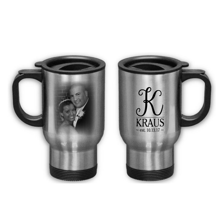 Whether you want to make it personal or for a gift - custom travel mugs are a GREAT idea... #custom #personal #shoplocal #shopsmall #eriepa #travel #mug