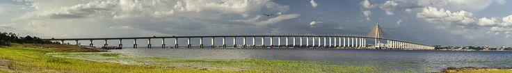 Ponte Rio Negro - Manaus - Amazonas AM - Brasil - Viagem Volta ao Mundo - Just Go #JustGo
