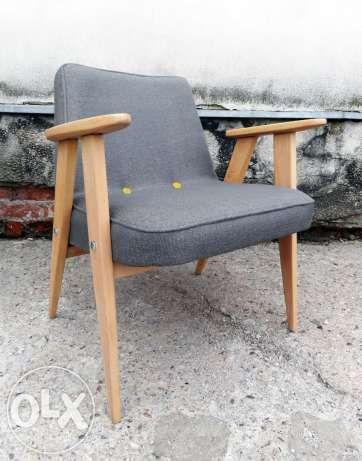 fotel retro prl 366 chierowski originał Warszawa - image 1
