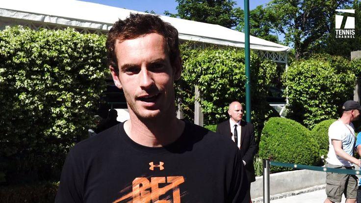 World No. 1 Andy Murray & Martin Klizan on Lenglen now → Watch LIVE on Tennis Channel Plus! BuyTCPlus.com  #RG17 #HeyClay