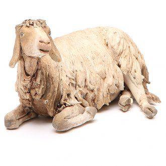 Liegendes Schaf 30cm Angela Tripi | Online Verfauf auf HOLYART