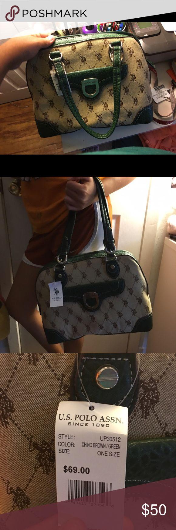 U.S polo handbag green u.s polo handbag new 🎉🎉🎉 U.S. Polo Assn. Bags Shoulder Bags