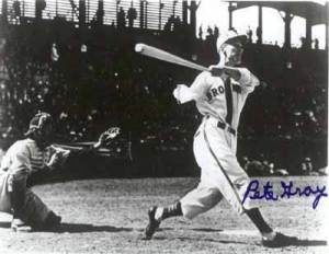 Pete Gray - one armed professional baseball player - attained a batting average of .333 and a stolen-base record of 63; as a result, he was named the 1944 Southern League Most Valuable Player. #boardofman