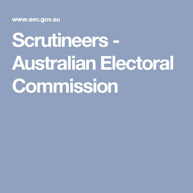 Australian Electoral Commission - ShowYourSearch