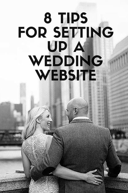 Create your own personal wedding website using one of the wedding website builders! Find the best wedding site builder on our list!