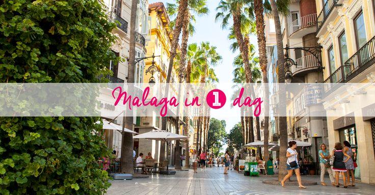 Malaga in een dag! Op vakantie in Andalusie of aan de Costa del Sol? Sla dan deze fijne stad niet over. Leuke tips voor een dagje naar Málaga. #Malaga #Andalusie #Spanje #Travel