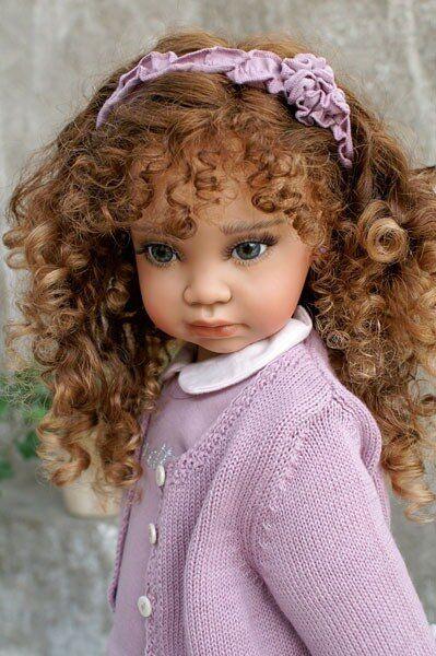 Виниловые куклы OOAK Анжелы Суттер (Angela Sutter ...