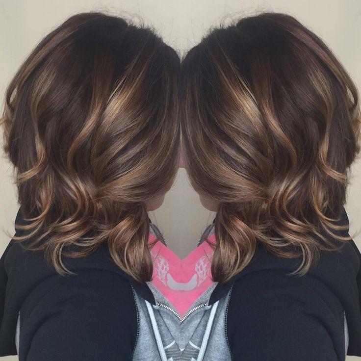 #brunette #balayage More