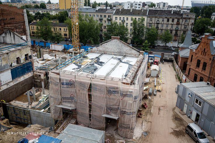 Koneser w budowie | Po rewitalizacji, w tym budynku mieścić się będzie hotel Moxy.