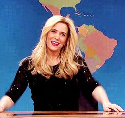 New party member! Tags: snl saturday night live kristen wiig weekend update snledit by isa s37e09