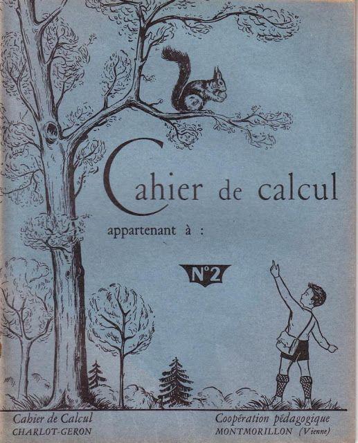 Charlot, Géron Cahier de calcul livret 2 CP