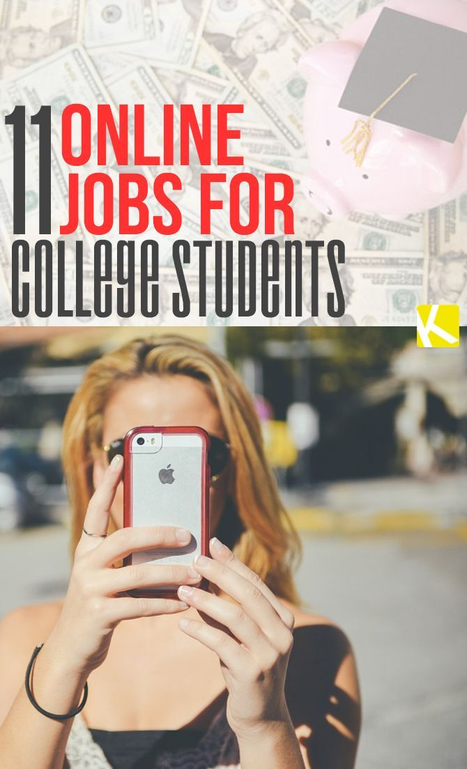 best online jobs for students ideas  11 online jobs for college students
