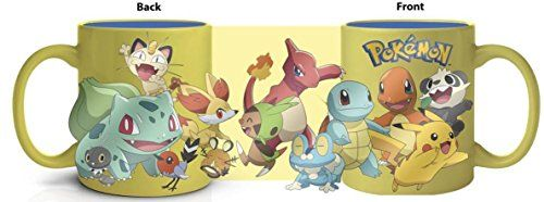 Pokemon Yellow Group Characters 22 Oz Ceramic Mug – Pokemon Cups and Pokemon Mugs