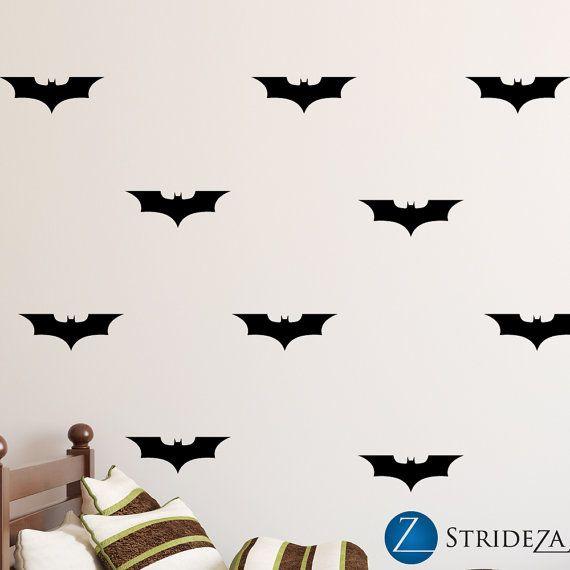 Batman wall decal batman wall art batman decal batman by Strideza
