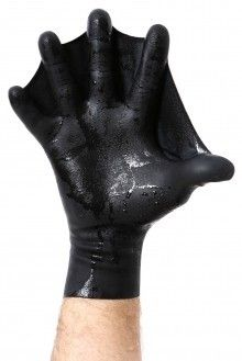 Darkfin Glove—good for swimming when you cannot use your legs.