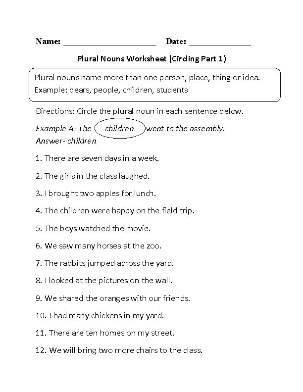 Homographs Worksheets 5th Grade Word Best  Plural Nouns Worksheet Ideas On Pinterest  Plurals  Protein Worksheet Pdf with Free Worksheets To Print Excel Circling Plural Nouns Worksheet Worksheet Ph Calculations Pdf
