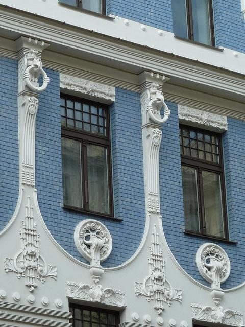 Riga, Latvia, Art Nouveau...