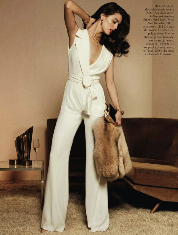 Giampaolo Sgura Eyes Emily Didonato For Vogue Spain July 2013 As 'Diseño De Interiores'