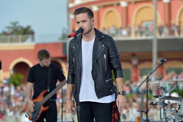 "Liam Payne Photos - Liam Payne of One Direction appear on NBC's Today Show to release their new album ""Four"" at Universal City Walk At Universal Orlando on November 17, 2014 in Orlando, Florida. - One Direction Visits the 'Today' Show"