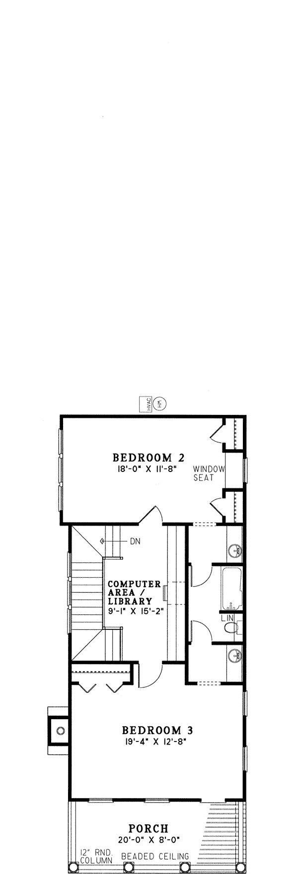 3127 best narrow lot compact house plans images on pinterest colonial southern house plan 61061 level two