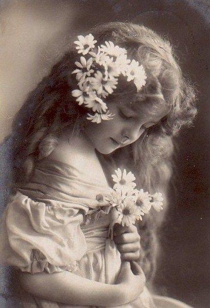sweet vintage girl