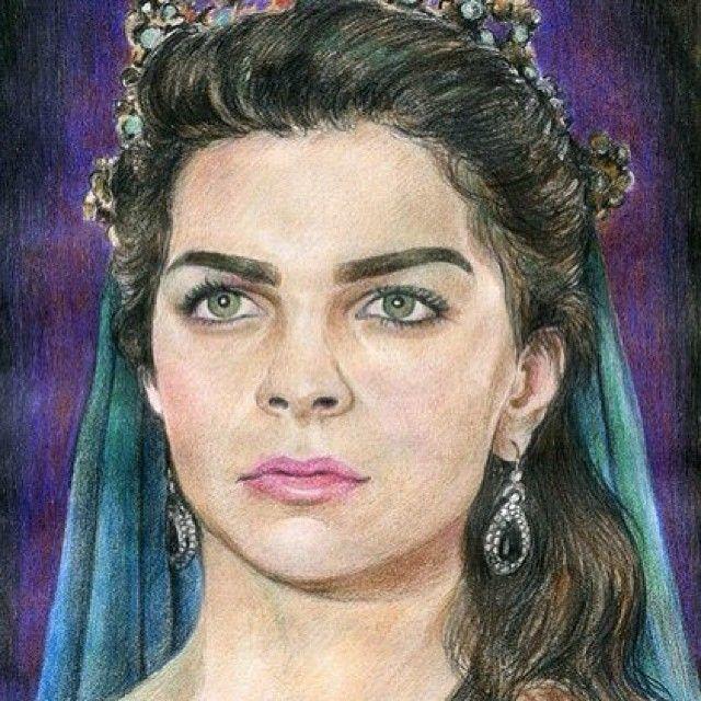 Muhtesem Yuzyil Mihrimah Sultan Pelin Karahan Portrait