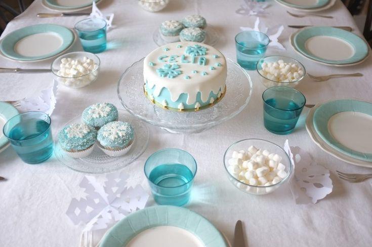 gâteau sans gluten Reine des Neiges : glutenfree Frozen cake