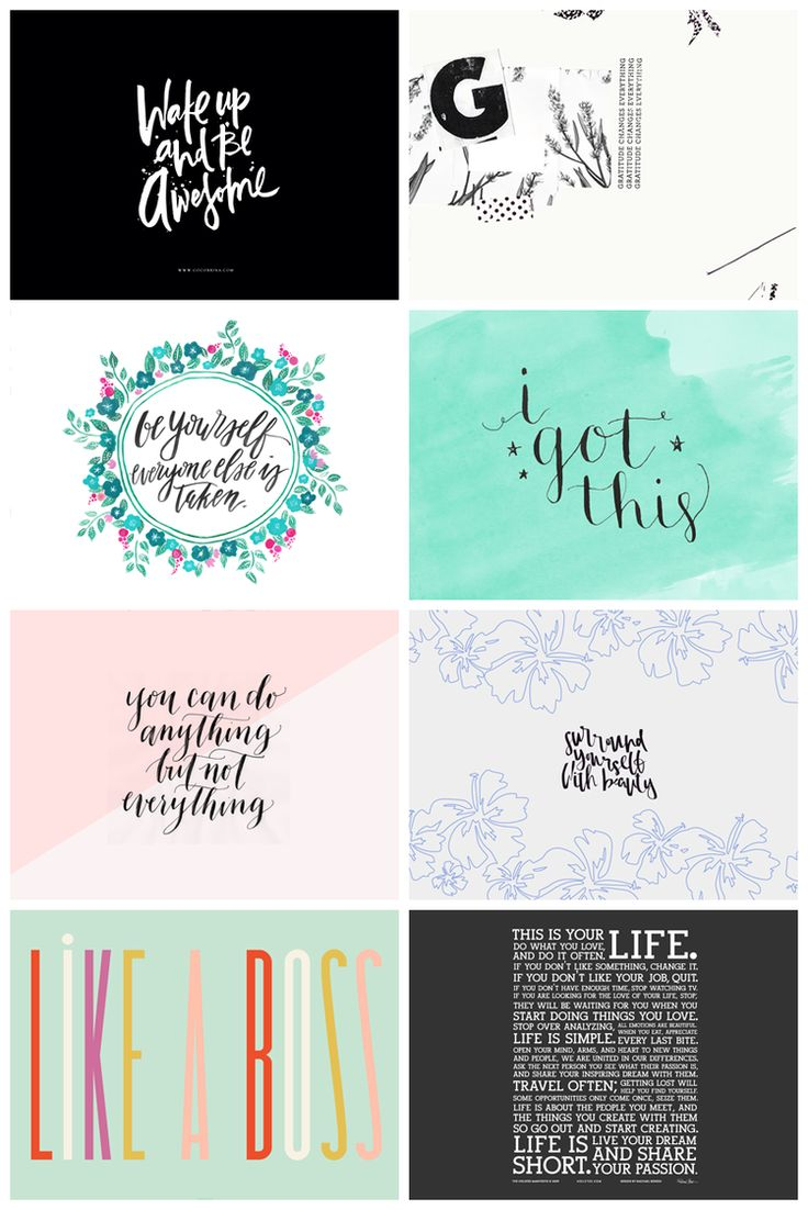 Eight gorgeous and inspiring desktop wallpapers by designers