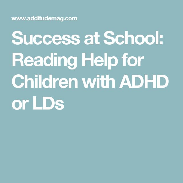 how to help a child with adhd with reading comprehension