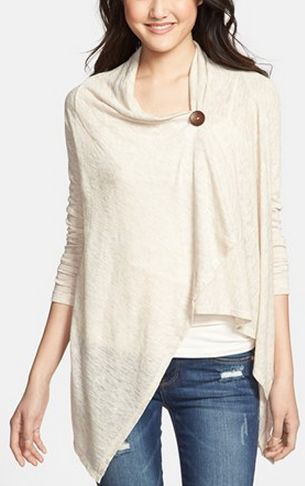 Fall Must-Have: One button asymmetrical caridgan http://rstyle.me/n/n5j8nn2bn