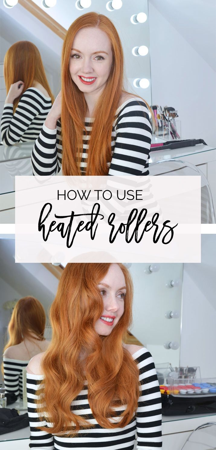 how to use heated rollers