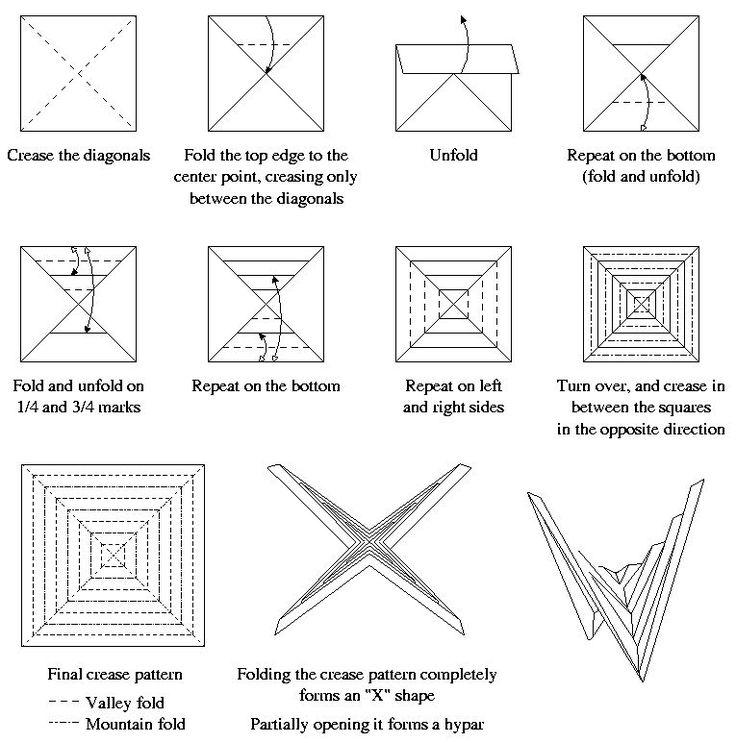 En El Blog Origami Tessellations Se Puede Aprender A Doblar Diferentes Figuras Muchas De Ellas
