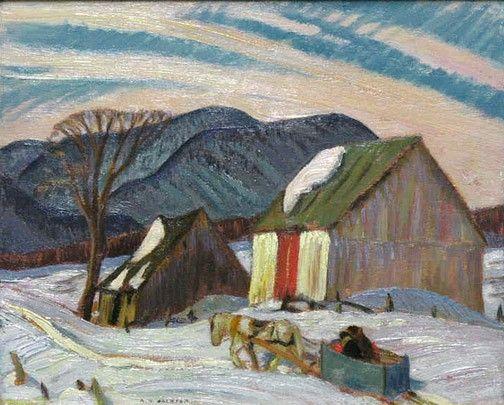 Galerie Alan Klinkhoff - A.Y. Jackson, LL.D, R.C.A., O.S.A. (1882-1974)
