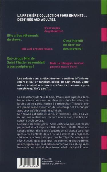 Niki De Saint Phalle - 4ème de couverture - Format classique