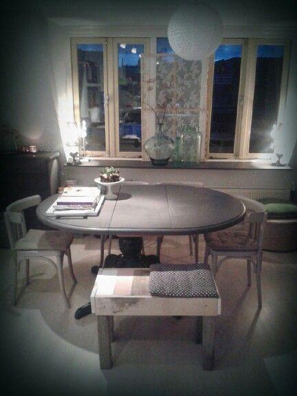 Bankje gemaakt door Atelier de Voordam.♥