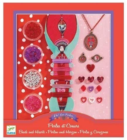Κατασκευή Κοσμημάτων 'Perles et Coeurs', Djeco