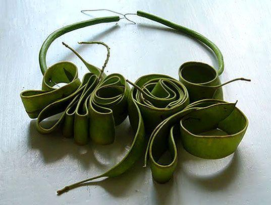 Ceca Georgieva's Fresh Green Jewelry Created by Nature | Ecouterre