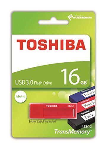 awesome Toshiba TransMemory U302 16GB USB 3.0 Rojo unidad flash USB - Memoria USB (USB 3.0 (3.1 Gen 1), USB 3.0, Type-A, 0 - 50 °C, -20 - 60 °C, Tapa)