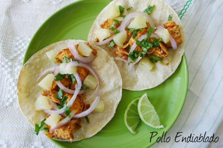 15 best images about tacos de pollo on pinterest - Tacos mexicanos de pollo ...