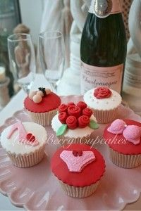 Lady Berry Hen Party Cupcakes and Classes