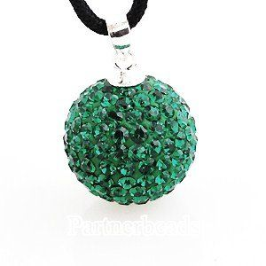 Pandora inspired 925 sterling silver May birthstone crystal necklace pendant with genuine swarovski crystals (Emerald green)) 14mm Jdmd outlets. $10.99. Satisfaction guaranteed. Genuine swarovski crystals. Sterling silver ring. Wholesale price
