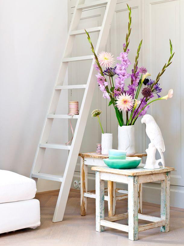 p Een feestje wordt extra vrolijk met bloemen. Elk seizoen heeft haar eigen bloemsoorten en tijdens de zomermaanden zijn dat onder andere Gladiolen en Dahlia's. Vanaf juli zijn deze en andere bolbloemen er weer volop in de meest spectaculaire kleuren en vormen. En welke bloemen je ook in de vaas zet, je krijgt gegarandeerd de zomer in je bol!/p