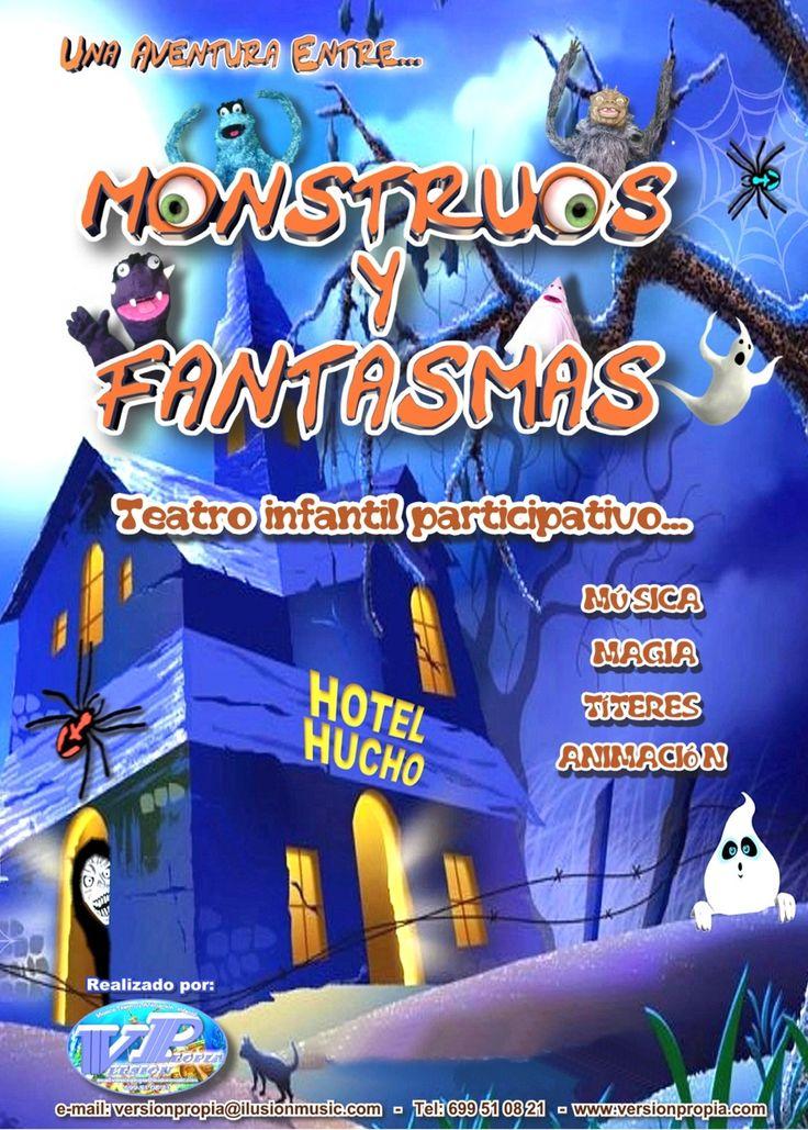 Teatro infantil Participativo: una aventura entre.. MONSTRUOS Y FANTASMAS