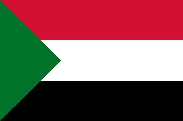 sudan, flag, national flag, nation, country, ensign